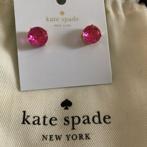 Fuchsia Kate Spade Gumdrop Earrings